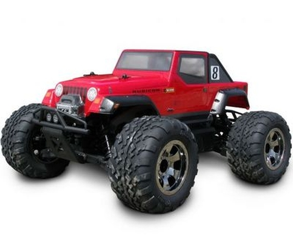 HPI Savage XS Flux Clear Jeep Wrangler Rubicon Body HPI106704